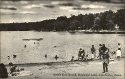 South End Beach at Hayward lake
