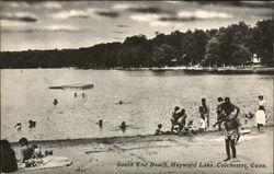South End Beach at Hayward lake