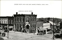 American Legion Rooms - Corner North Main and East Market Streets