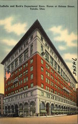 LaSalle & Koch's Department Store, Huron at Adams Street