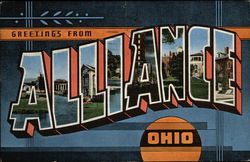 Greetings from Alliance Postcard