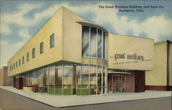 The Great Northern Building and Loan Co. Postcard
