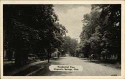 Residential View Postcard