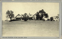 Galion Country Club Postcard