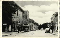 West Lincoln Way Postcard