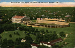Stadium and field house, University of Wisconsin, Madison, Wis