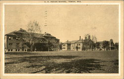 U.S. Indian School Postcard