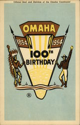 Official seal and emblem of the Omaha Centennial