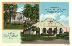 The Home of Will Rogers and Radium Bath House