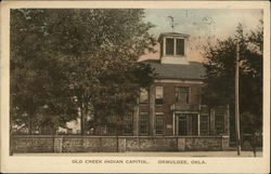 Old Creek Indian Capitol