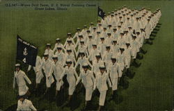 U.S. Naval Training Center - Wave Drill Team