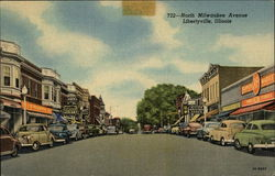 North Milwaukee Avenue Postcard