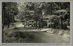 Drive on North Shore, Kalorama Park, Tippecanoe Lake
