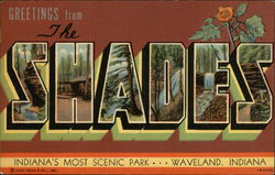 Greetings from The Shades Scenic Park Postcard
