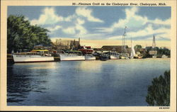 Pleasure Craft on the Cheboygan River