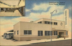 Interior & Exterior Views of Greyhound Bus Terminal