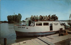 Ohio's Lake Erie Vacationland S.S. Erie Isle, Port Clinton, Ohio