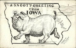 A snooty greeting from Iowa