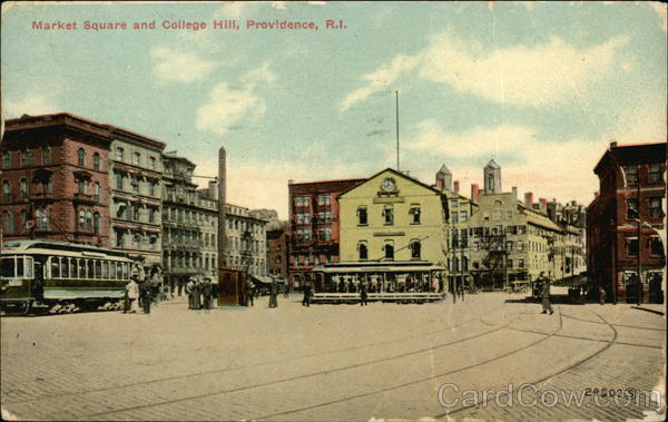 Market Square and College Hill Providence Rhode Island