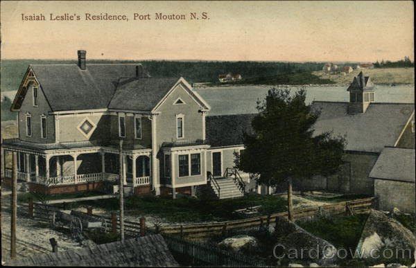 Isaiah Leslie's Residence Port Mouton Canada Nova Scotia