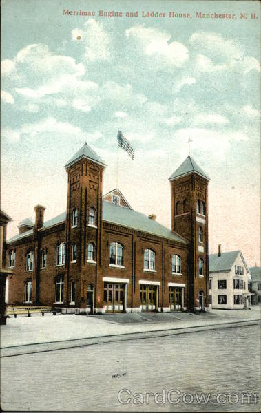 Merrimac Engine and Ladder House Manchester New Hampshire