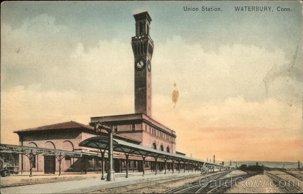 Union Station Waterbury Connecticut Depots