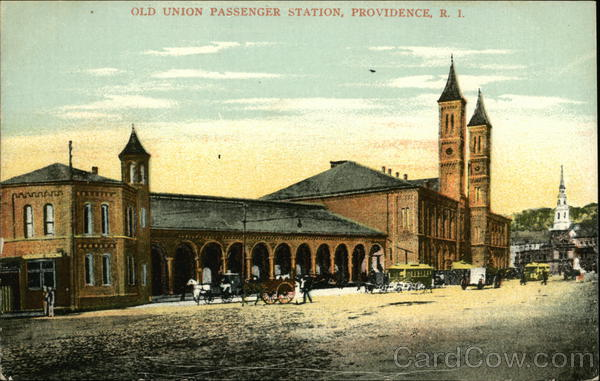 Old Union Passenger Station Providence Rhode Island