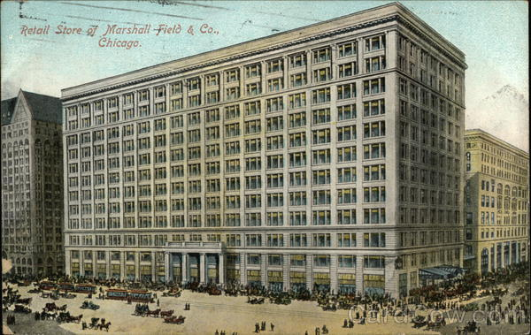 Retail Stor of Marshall Field & Company Chicago Illinois
