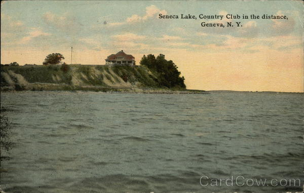 Seneca Lake and Country Club Geneva New York