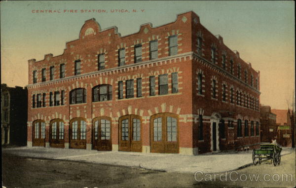 Central Fire Station Utica New York