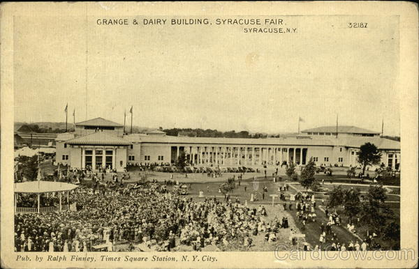 Syracuse Fair - Grange & Dairy Building New York