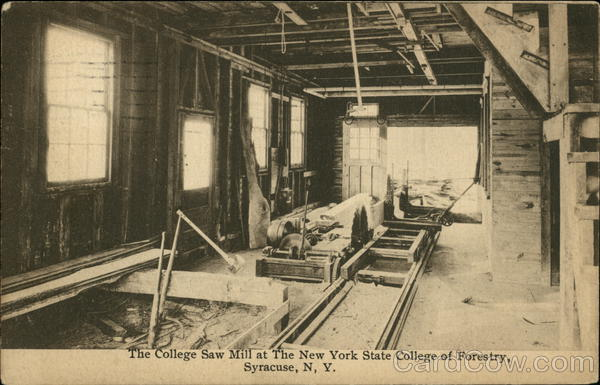 New York State College of Forestry - College Saw Mill Syracuse