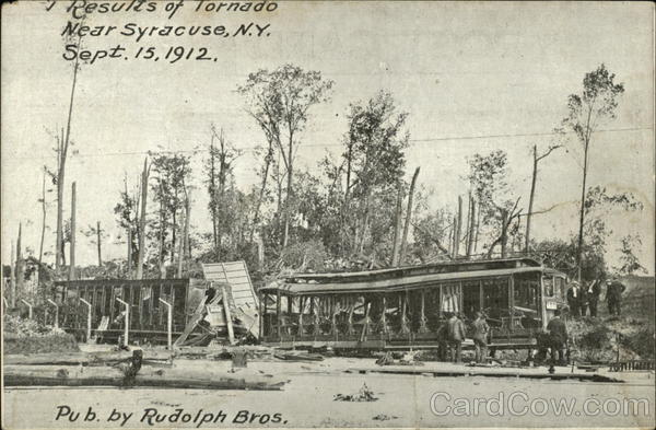 Results of tornado Syracuse New York Disasters