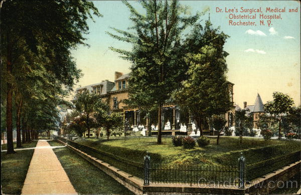 Dr. Lee's Surgical, Medical and Obstetrical Hospital Rochester New York