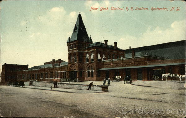 New York Central Railroad Station Rochester