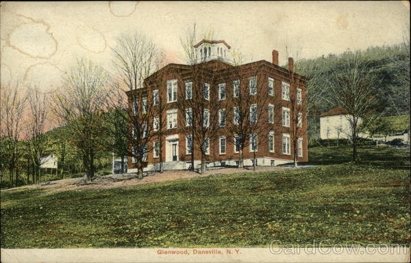 Glenwood and Grounds Dansville New York