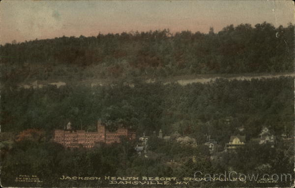 Jackson Health Resort from Valley Dansville New York