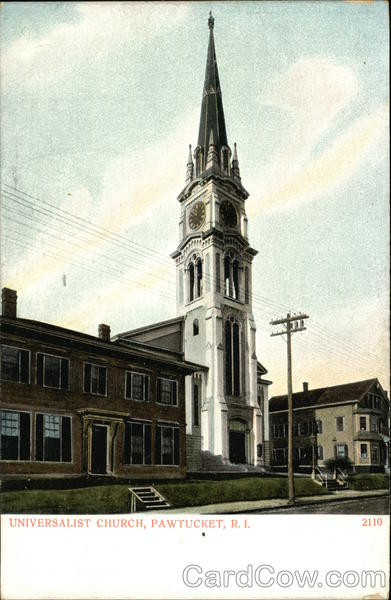 Universalist Church Pawtucket Rhode Island