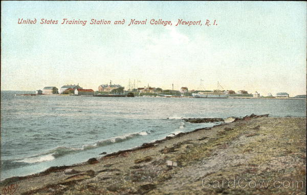 United States Training Station and Naval College Newport Rhode Island