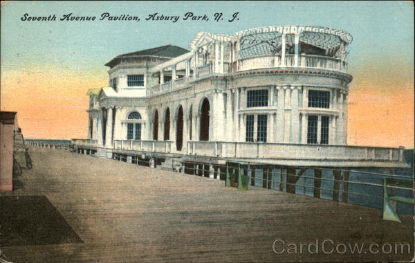 Seventh Avenue Pavilion Asbury Park New Jersey