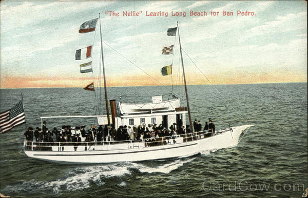 The Neille, Leaving Long Beach for San Pedro California