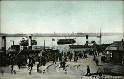 Pierhead and Ferry Boats