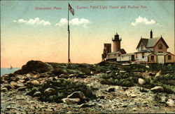 Eastern Point Light House and Mother Ann