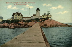 Eastern Point Light from Dog Bar Breakwater