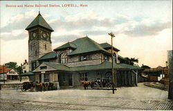 Boston and Maine Railroad Station