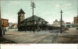 Street View of Railroad Station