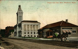 Depot and City Hall