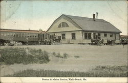 Boston & Maine Station