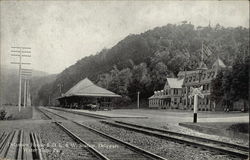 Delaware House and D. L. & W. Station