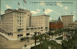 U.S. Grant Hotel and American National Bank Building